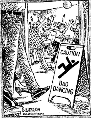 Beware Dancing